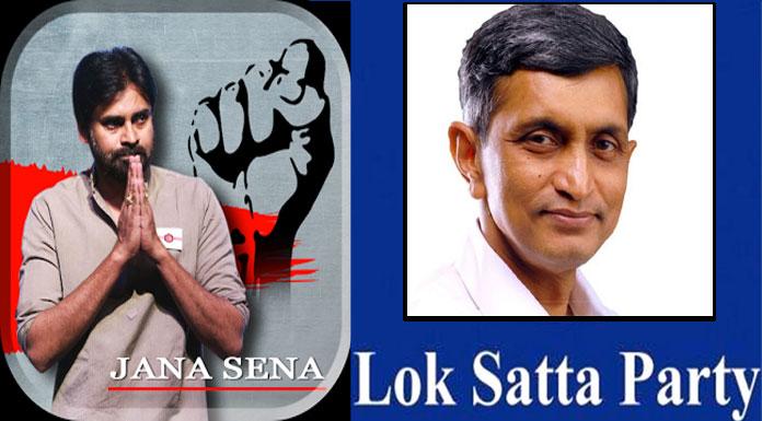 pawan kalyan jana sena Lok satta party and CPI party will alliance for 2019 elections