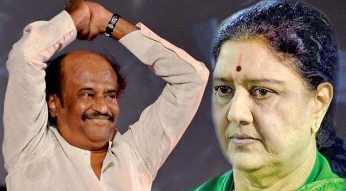 rajini political entry line clear because of sasikala want to do palaniswamy govt finish