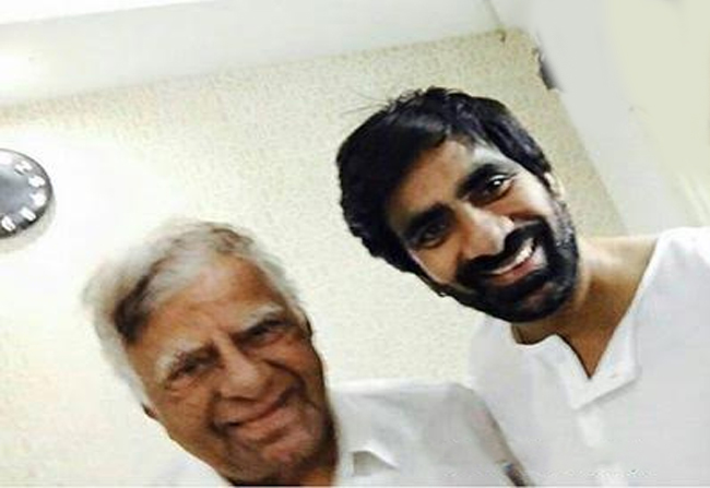 Ravi Teja's Father Spends 1 Lakh For A Month