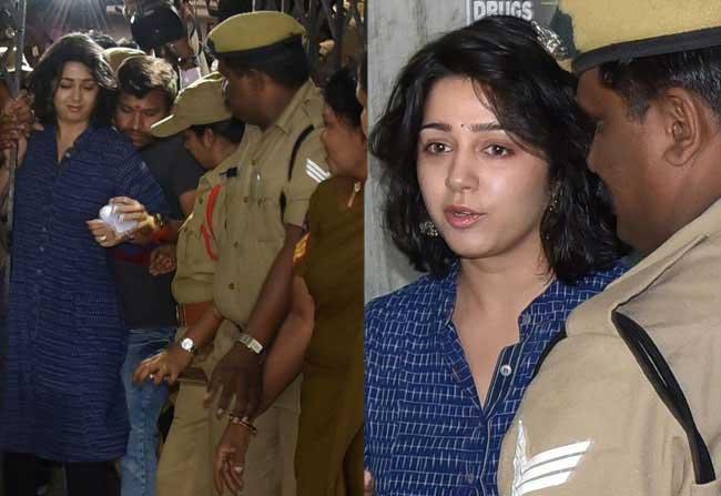 Constable Misbehaving Charmi Exclusive