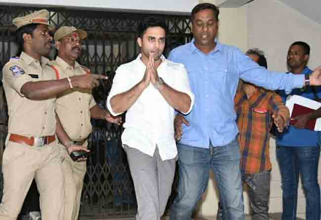 Navdeep Escapes from Media Before Interrogation
