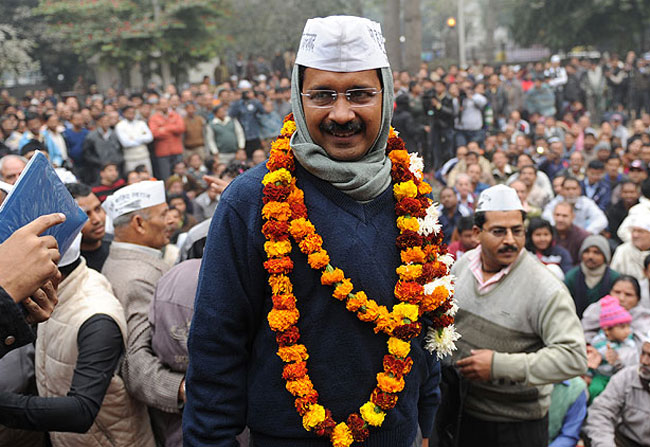 AAP Wins In By-Election Easily