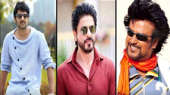 Prabhas and Rajinikanth in Sharukh Movie