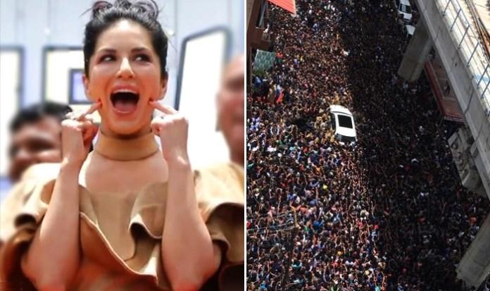 Sunny Leone: Sea Of Fans