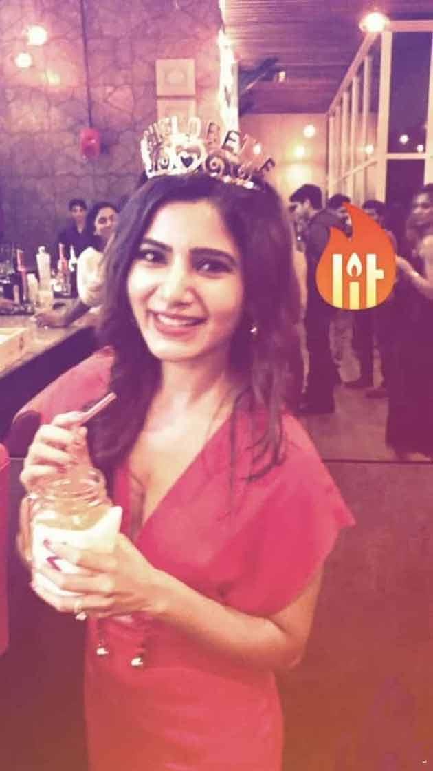 Samantha Chaitanya bachelor party
