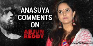 Anasuya Baradwaj comments on Arjun reddy
