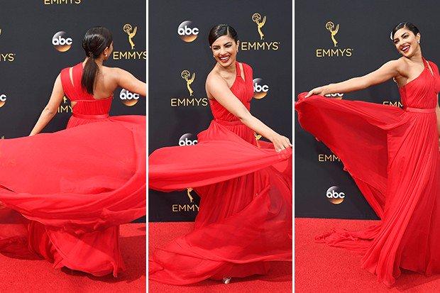 Netizens comments on Priyanka Chopra dress