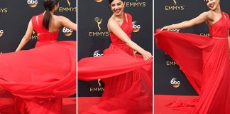 Priyanka Chopra dress in Emme awards