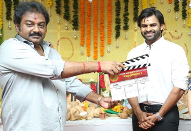 Sai Dharam Tej Movie With VV Vinayak