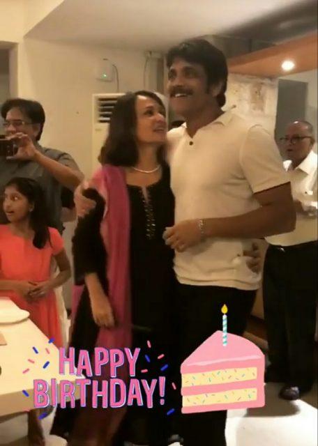 Samantha shares Amala birthday celebrations