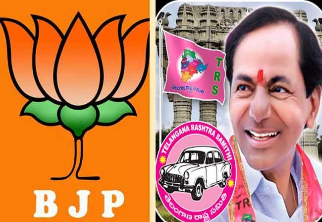 TRS Vs BJP