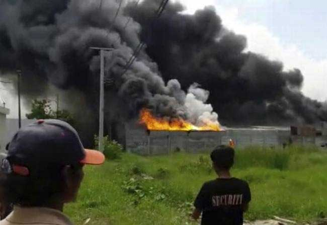 46 Killed, with dozens injured in a cracker unit fire in Indonesia