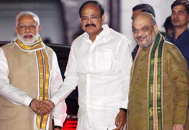 BJP pays its price for ousting Venkaiah Naidu