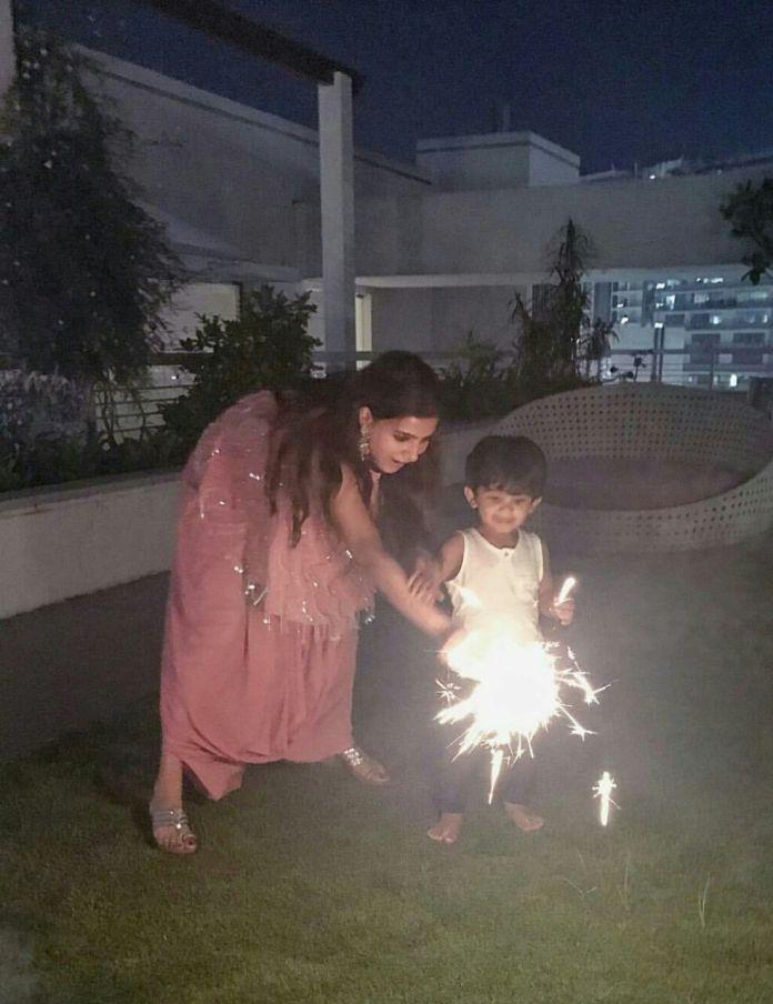 Samantha Diwali celebrations
