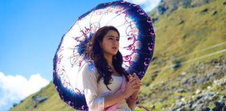 Sara ali khan first look