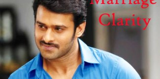 Prabhas clarifies about his Marriage rumors