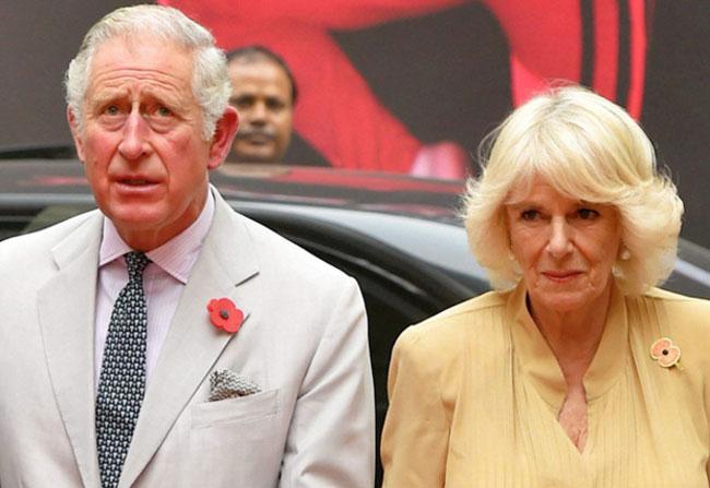 Delhi Smog receives Prince Charles and Camilla Parker