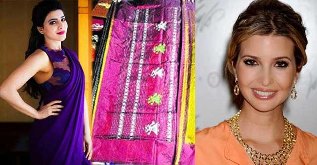 Samantha to gift Siddipet's 'Gollabhama Saree' to Ivanka