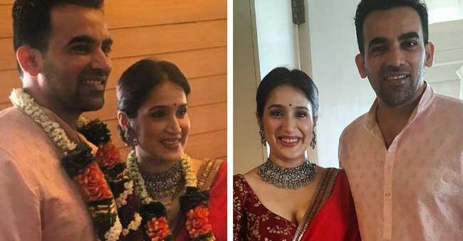 Zaheer Khan weds Sagarika!