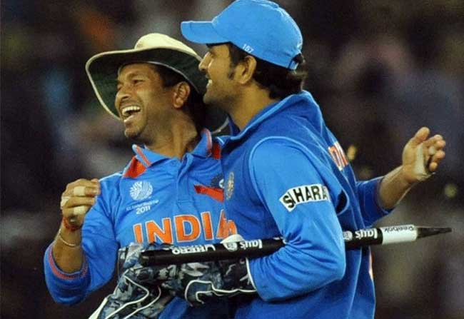 Sachin: Dhoni reminded me of my father!