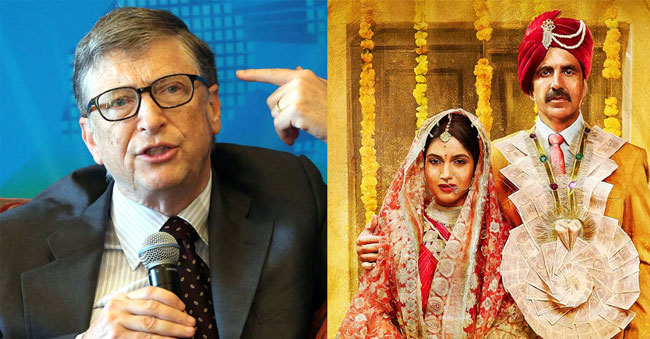 Bill Gates says he is inspired by Indian Film