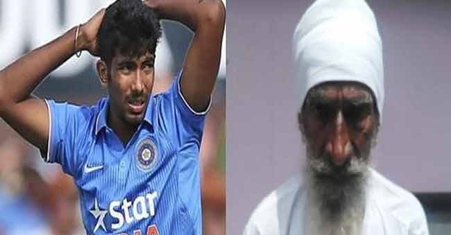 Bumrah's grandfather commits suicide after failing to him!