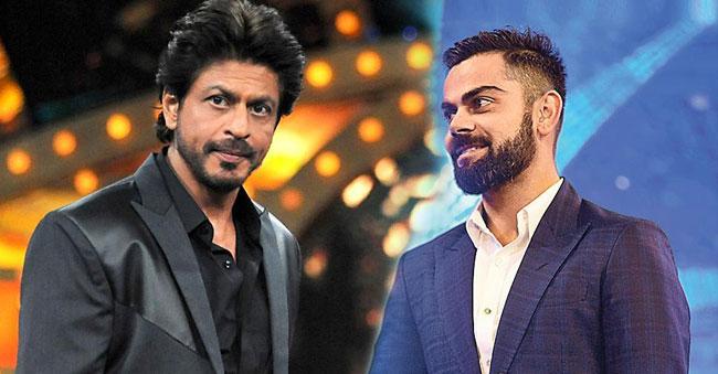 Virat Kohli dethrones SRK to become the most valuable Indian Celebrity!