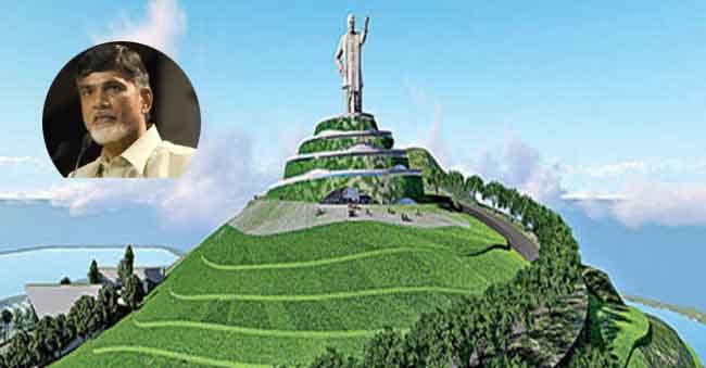 108 Feet NTR Statue On Neerukonda Hill – 4 Designs Already In Place