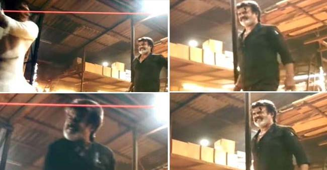 Kaala clip leak only benefiting the movie