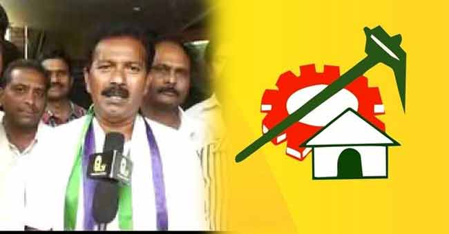 One more YSRCP defector to TDP in A.P?