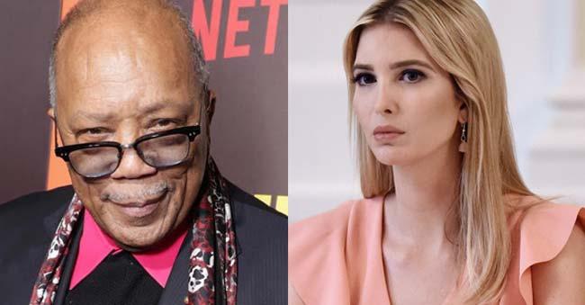 I dated Ivanka Trump – Producer Quincy Jones, 84 Years