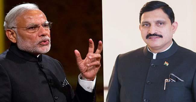 Sujana's meeting with Modi raises heat