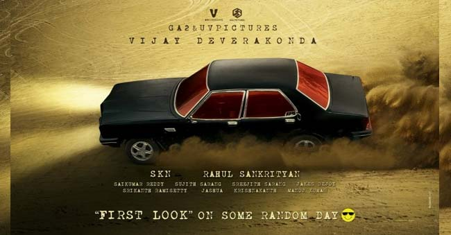 Vijay Deverakonda's next pre-look drawn the attention
