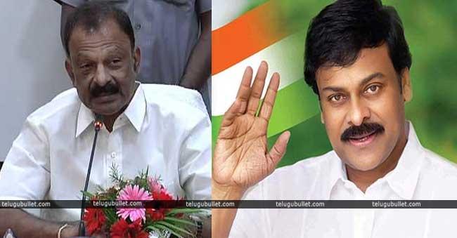 Chiru Is Still In AP-Congress: Claims Raghuveera Reddy