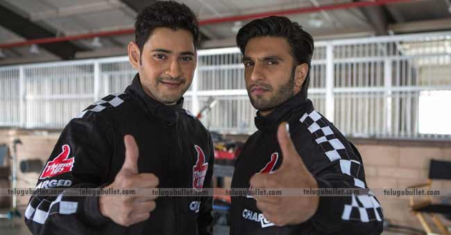 Mahesh Babu And Ranveer Singh Shoot Together