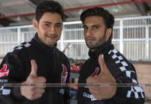 Mahesh Babu & Ranveer Singh Shoot Together
