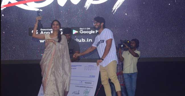 Vijay Devarakonda Auctions his Filmfare Award for 25 Lakhs