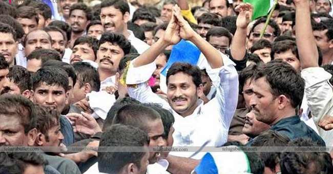 YS Jagan completes another milestone in Padha Yatra