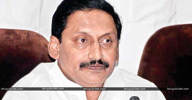 Kiran to contest from the region of Rayalaseema