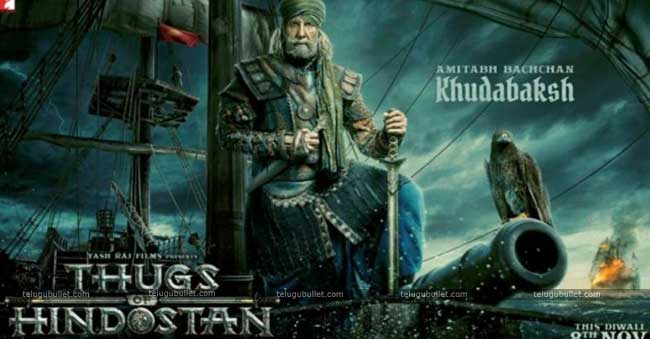 Thugs Of Hindostan – Amitabh As Khudabaksh – First look