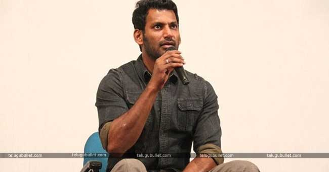 Hero Vishal To Contest By-Elections In Tamil Nadu