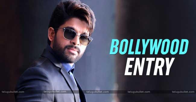 Is This Allu Arjun Bollywood Entry?