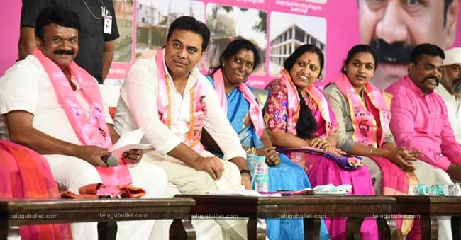 KTR if he becomes the CM