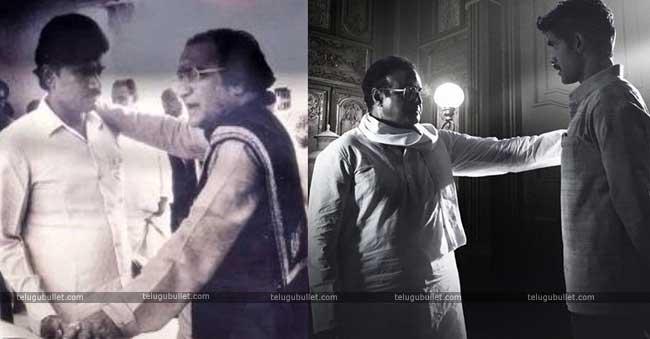 Poster – NTR & Chandra Babu At The Time @Balayya & Rana
