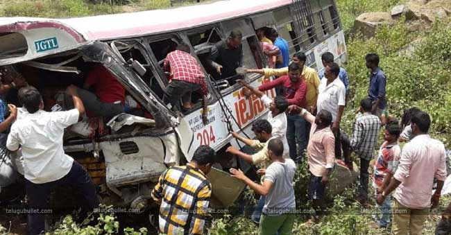 Driver Is The Culprit In Telangana Bus Accident: Declares The Investigation