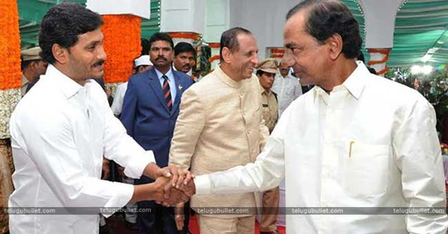 KCR's Helping Hand To YSRCP In Telangana?