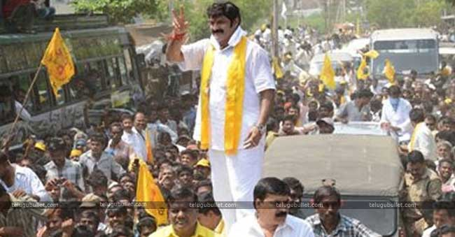 Balayya Turns As A Star Campaigner For T-TDP