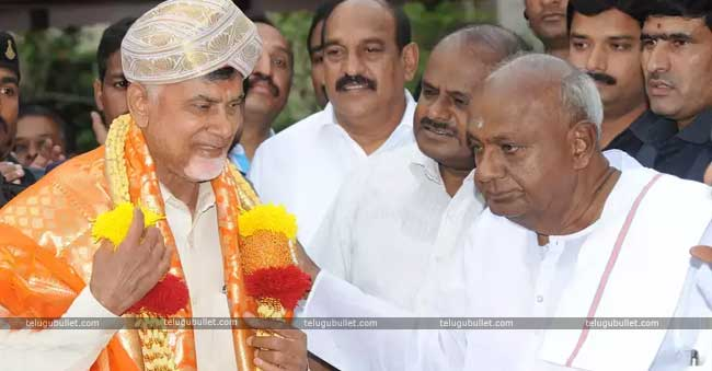 Naidu, The Leader Of Deccan Front Against BJP?