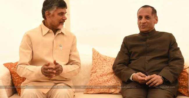 Chandrababu Naidu's Meet With AP Governor In Talks