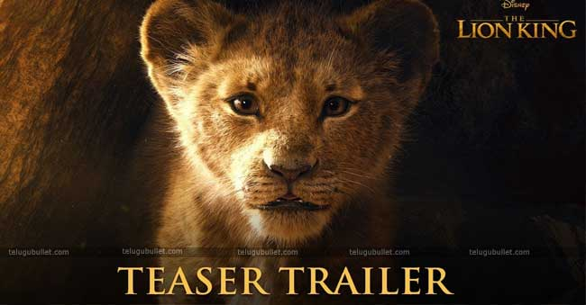 The Lion King Teaser – Disney's The Classy Remake